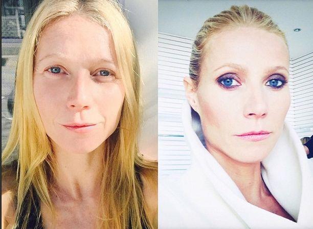 Gwyneth Paltrow pokazała się bez makijażu (FOTO)