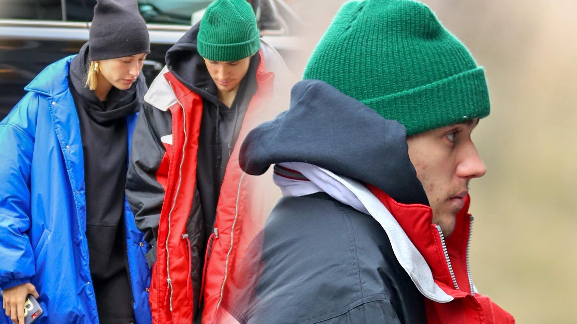 Ludzie myśleli, że Hailey i Justin to… bezdomni. Wszystko przez puchowe kurtki