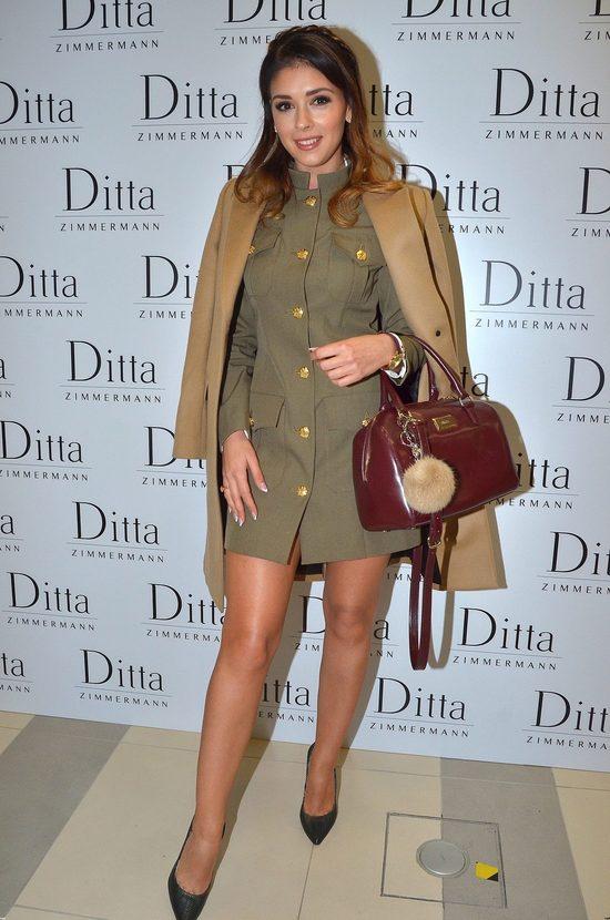 Klaudia Halejcio w takiej samej sukience jak Doda (FOTO)