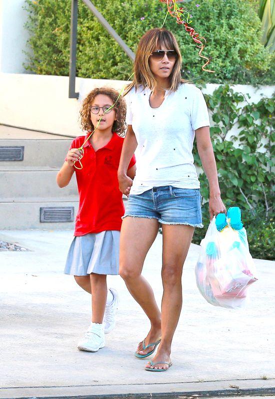 Córeczka Halle Berry nie odziedziczyła urody po mamie ...