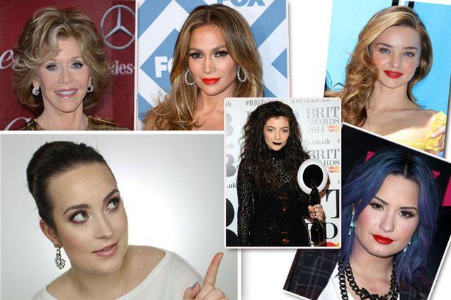 Gwiazdy z najpiękniejszymi makijażami (FOTO)