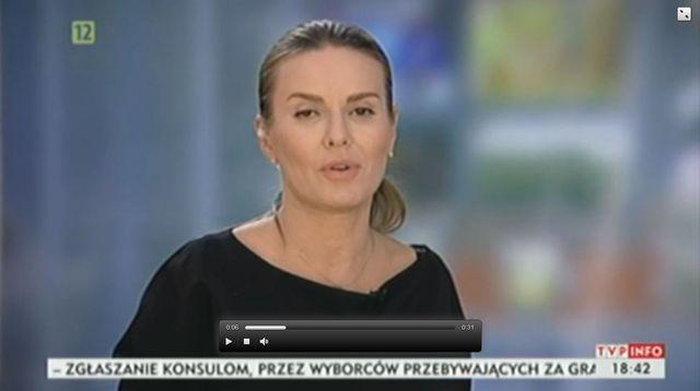 Hanna Lis zaliczy�a WPADK� na wizji (VIDEO)