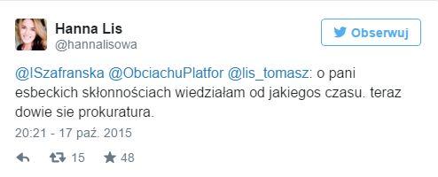 Hanna i Tomasz Lis pozywają za atakowanie córek w sieci