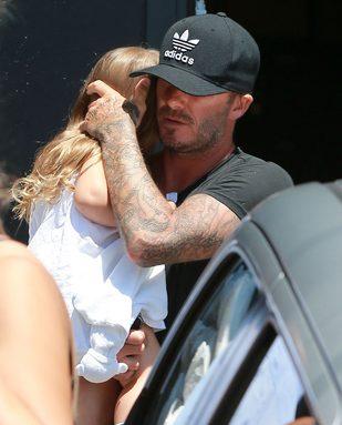 Tym razem David Beckham powiedział żonie krótko: NIE!