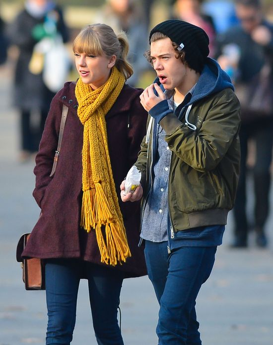 Jak Taylor zareagowała na te doniesienia z życia Harry'ego?