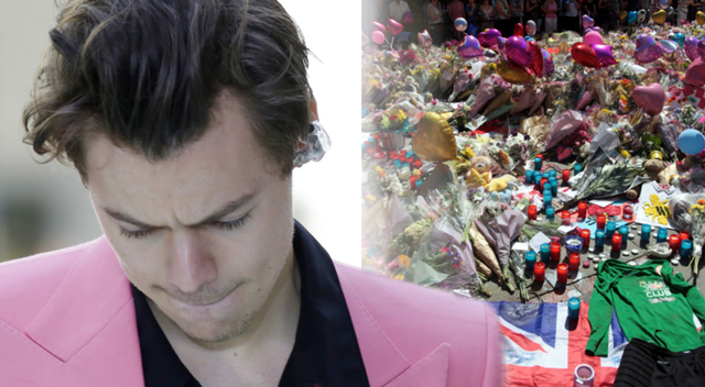 Harry Styles zaskoczył ranną fankę z zamachu w Manchesterze