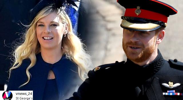 Książę Harry przed ślubem doprowadził byłą dziewczynę, Chelsy Davy do PŁACZU
