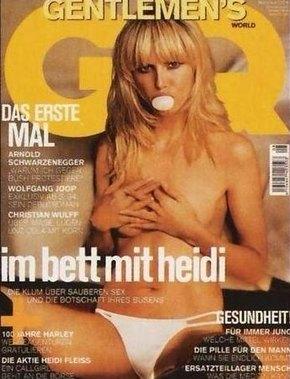 Heidi Klum rozebrała się dla magazynu Allure