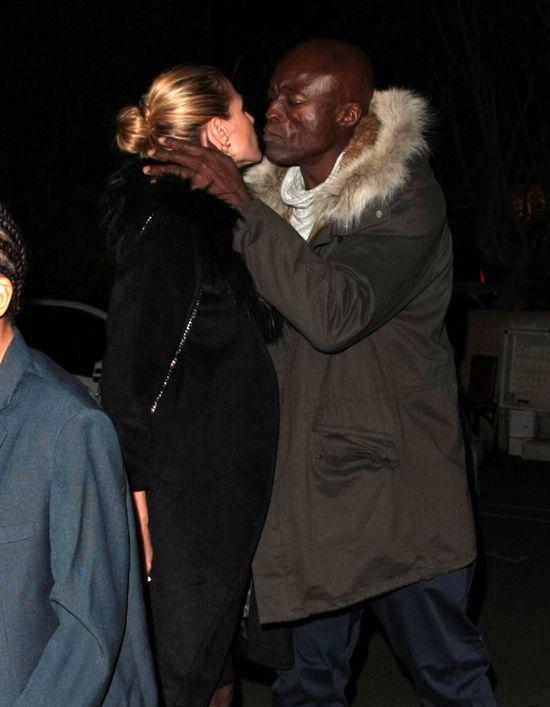 Seal ca�uje Heidi Klum tak, jak nie powinien? (FOTO)