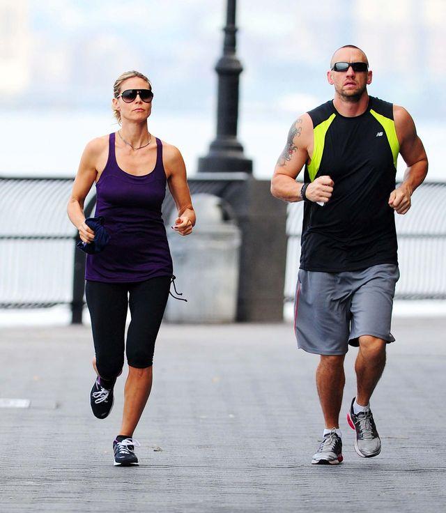 Heidi Klum biega, by zachowa� lini� (FOTO)