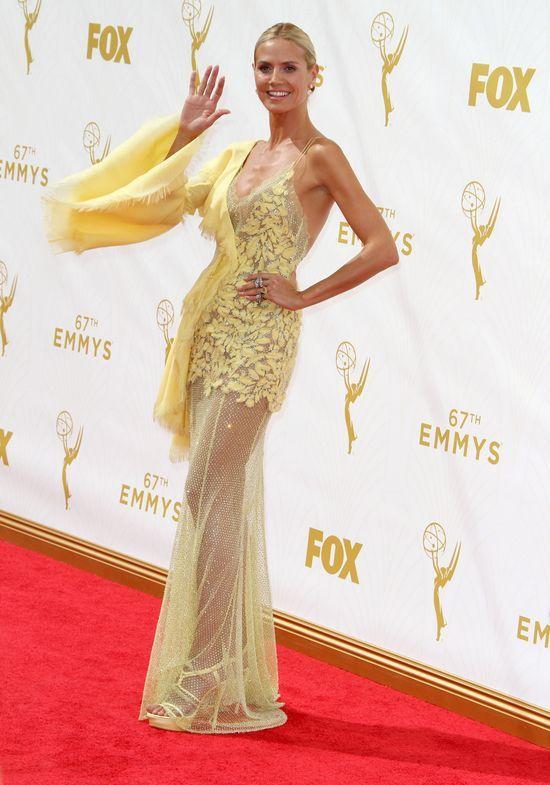 Heidi Klum największą rozebraną gali Emmy 2015?