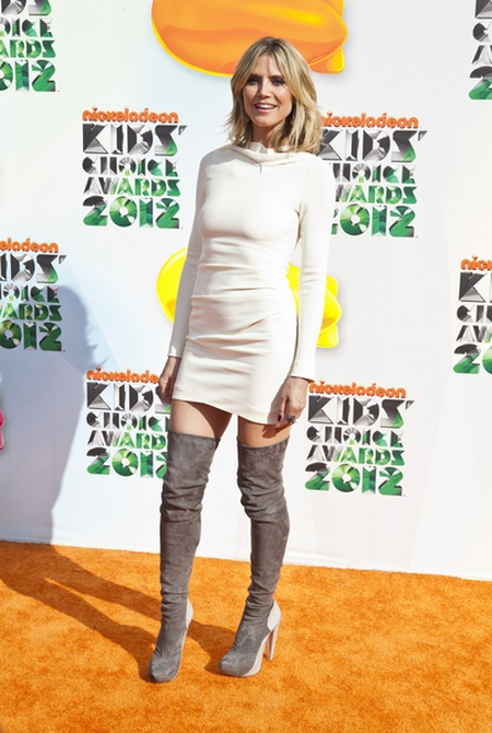 Heidi Klum Czerwony dywan Nickelodeon's Kids' Choice Awards (FOTO)