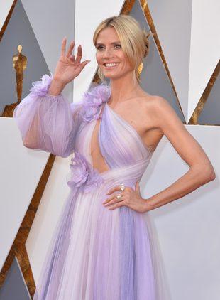 Oscarowa sukienka Heidi Klum porównana do… myjki (FOTO)