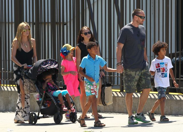 Dzieci Heidi Klum wreszcie znalazły godnego ich tatę (FOTO)