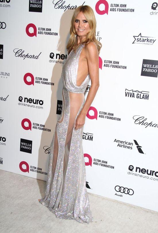 Heidi Klum miała wypadek na planie programu (Insta)