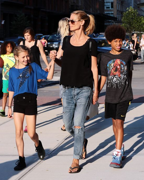 Dzieci Heidi Klum coraz starsze. Dla mamy czas się zatrzymał