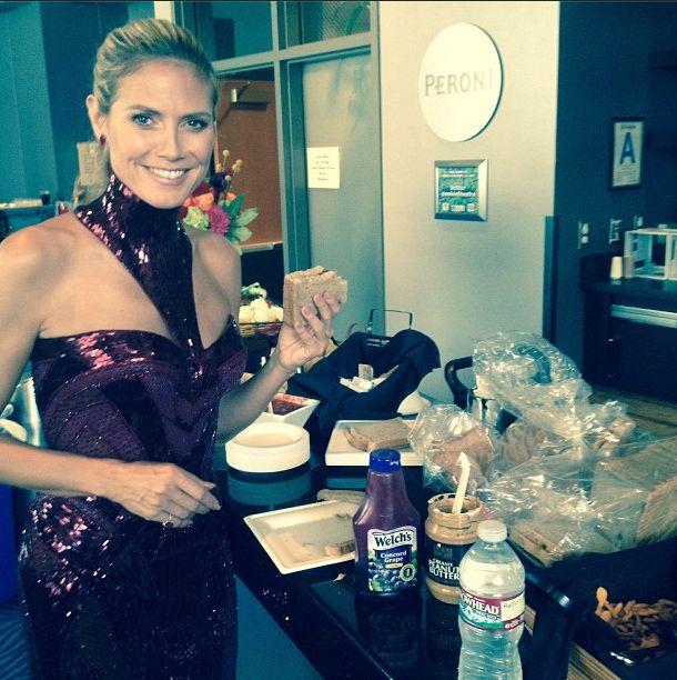 Rozdanie nagród  Emmy oczami Heidi Klum (FOTO)