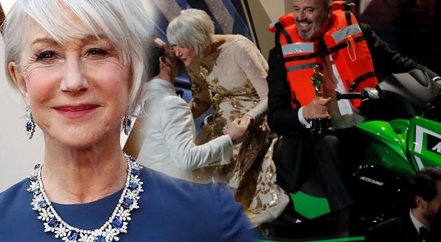 Helen Mirren wygrała Oscary pijąc tequilę na czerwonym dywanie i siadając na…