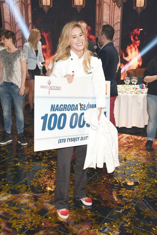 Katarzyna Domańska wygrała Hell's Kitchen (FOTO)