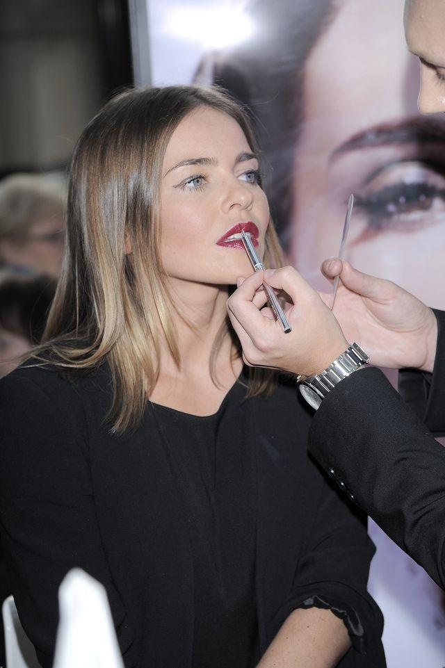 Gwiazdy w Sephorze poznawały jesienne trendy w makijażu FOTO