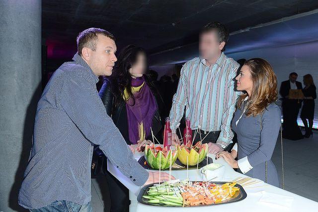Herbuś i jej były chłopak na jednej imprezie (FOTO)