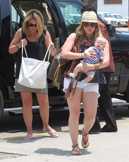 Hilary Duff: Waga nie spadnie z dnia na dzień