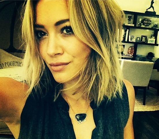 Hilary Duff ma nową fryzurę (FOTO)