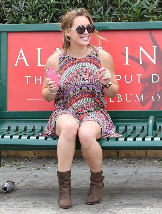 Co się stało Hilary Duff?