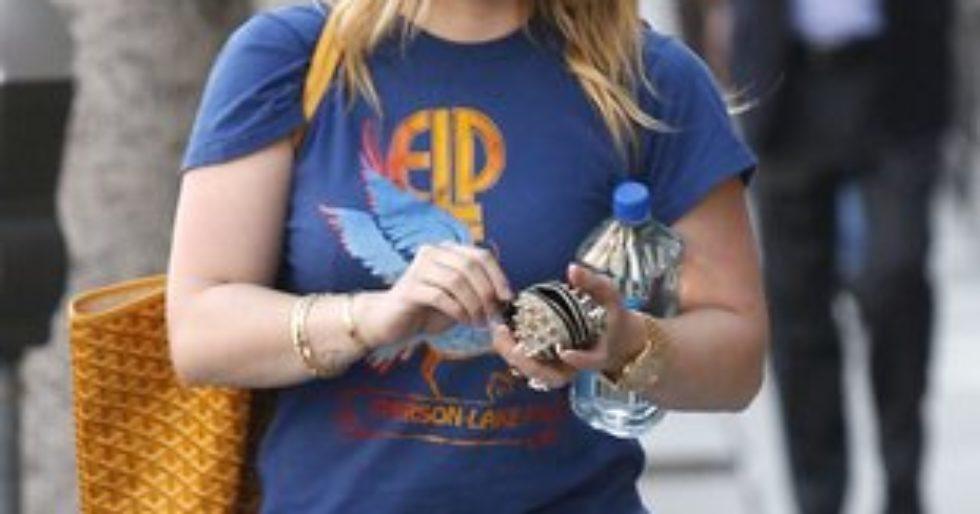 ac29a23c Hilary Duff coraz bliżej sylwetki idealnej (FOTO) - Kozaczek