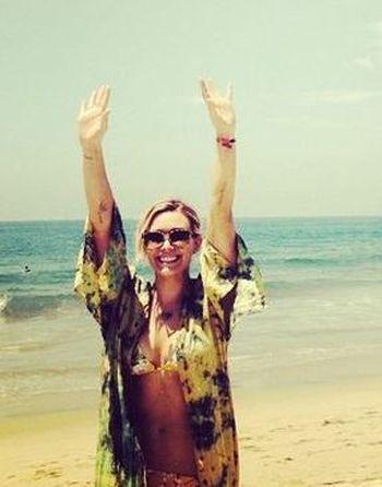 Hilary Duff też wzięła sobie wolne (FOTO+VIDEO)