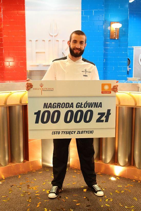 Łukasz Kawaller zwycięzcą Hell's Kitchen (FOTO)