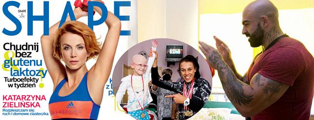 Shape: Sylwia i Akop Szostakowie wspierają dzieci chore na raka!