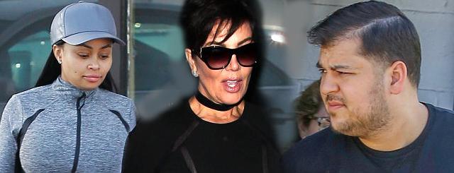 Kris Jenner wściekła na Blac Chynę! Jeśli zdradziła Roba Kardashiana, to…