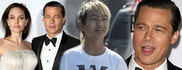 Brad Pitt w końcu zobaczył sięz Maddoxem. Nie obyło się bez…