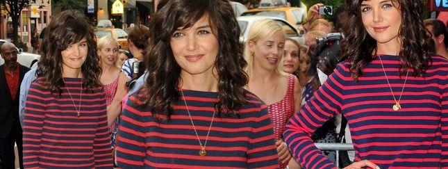 Wypoczęta, uśmiechnięta Katie Holmes (FOTO)