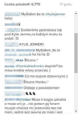 Tym razem Honorata Skarbek przesadziła? (Instagram)