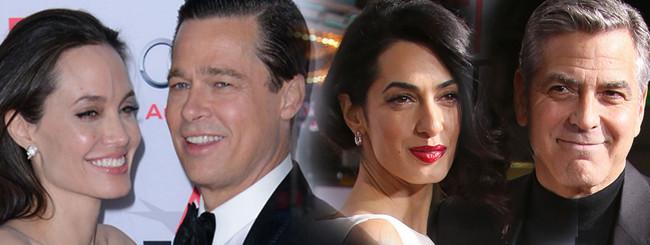 Czy Jolie i Clooney to HIPOKRYCI? Oto drugie dno!