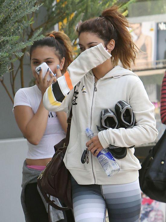 Siostry Hudgens miały gorszy dzień? (FOTO)