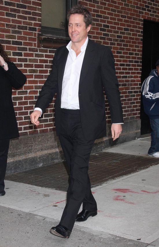 Hugh Grant ma trzecie (nie�lubne) dziecko