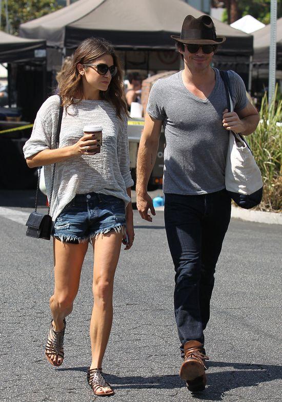 Nikki Reed i Ian Somerhalder postawili razem odważny krok
