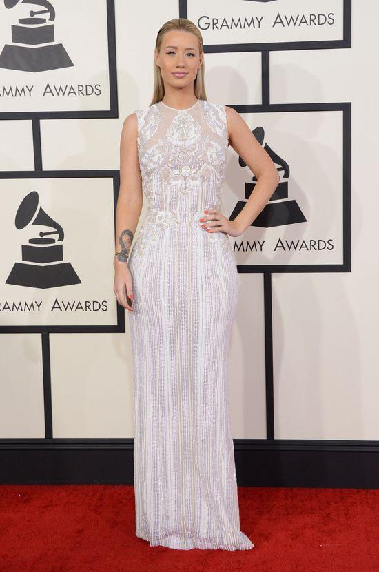 Plejada gwiazd na rozdaniu nagród Grammy (FOTO) iggy-azalea