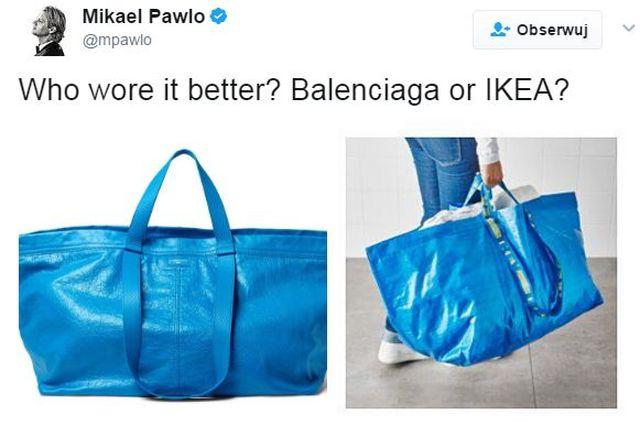 Balenciaga sprzedaje torbę wzorowaną na słynnej FRAKTA – reakcja Ikei BEZCENNA!