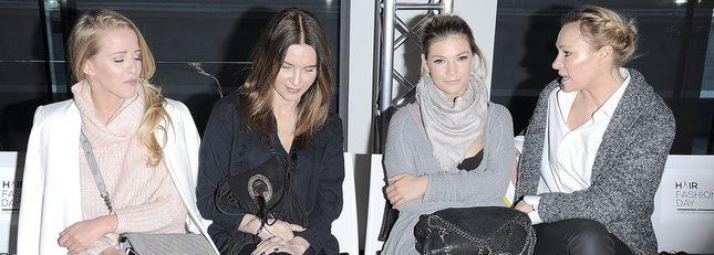 Mercedes i siostry Bohosiewicz na pokazie fryzur (FOTO)