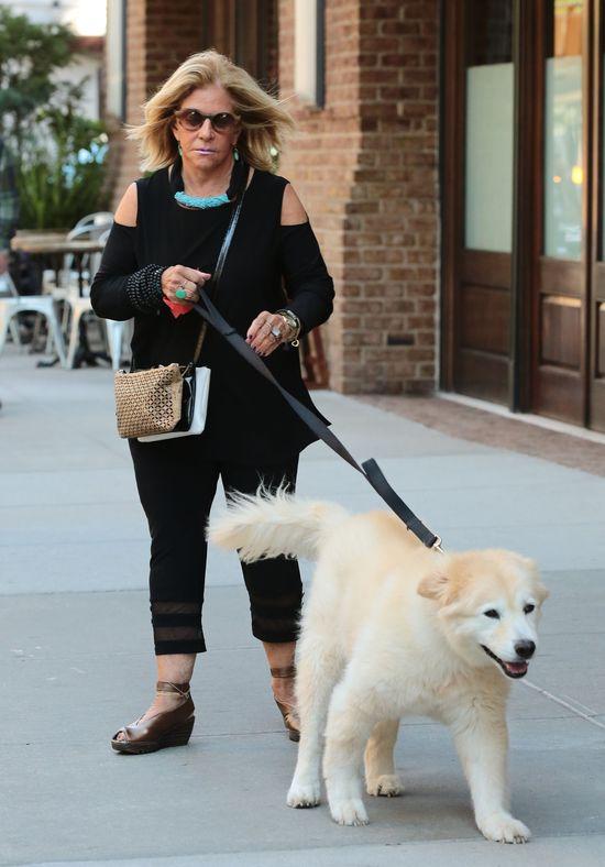 Irina Shayk ju� spaceruje z przysz�� te�ciow� (FOTO)