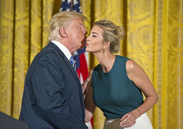 Ivanka Trump o silnych doznaniach w Białym Domu