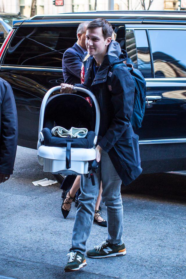 Zm�czona po porodzie? Pierwsze zdj�cia Ivanki Trump (FOTO)