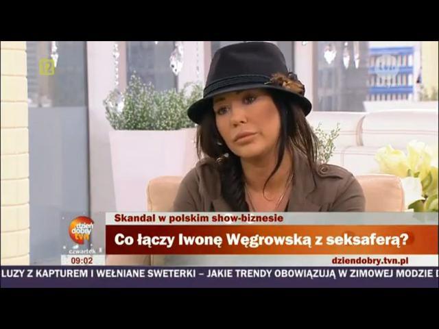 Iwona Węgrowska ociera łzy w telewizji śniadaniowej