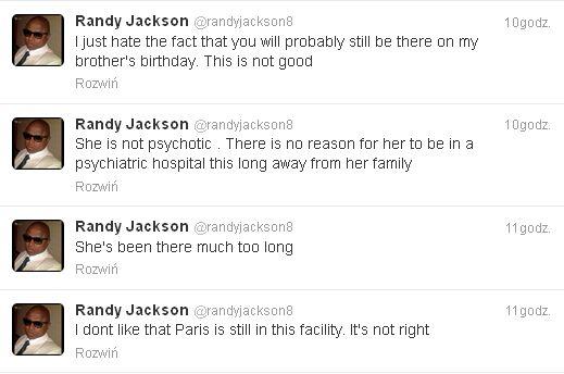 Paris Jackson jest trzymana w szpitalu bez powodu?