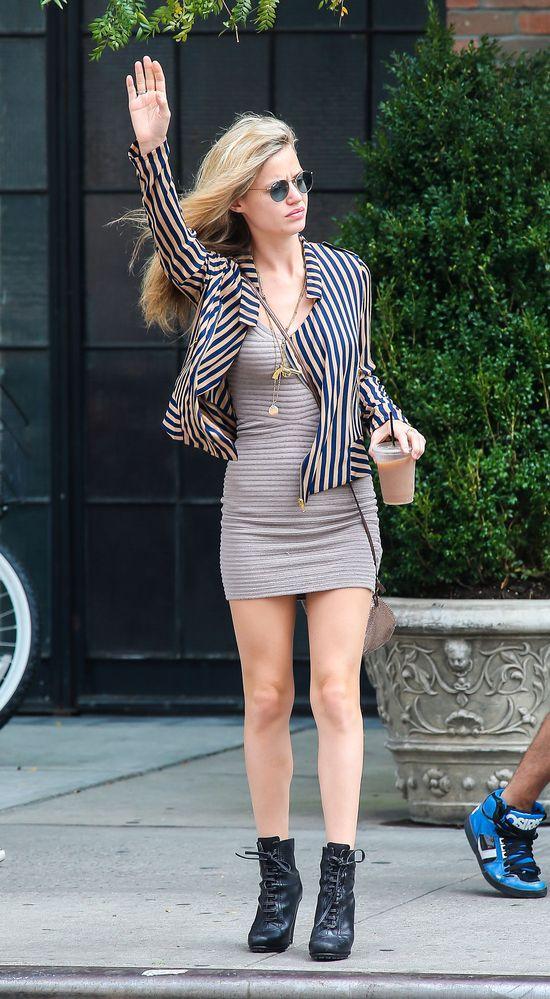Georgia May Jagger w Nowym Jorku (FOTO)