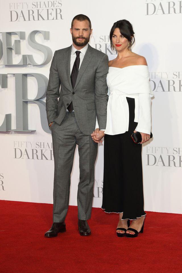 Jamie Dornan skomentował te OBRZYDLIWE polotki o swojej żonie